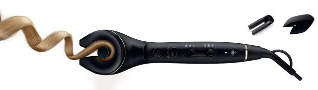 1-2-3 CURLS! Automatic curler 'ProCare Auto Curler' by PHILIPS.