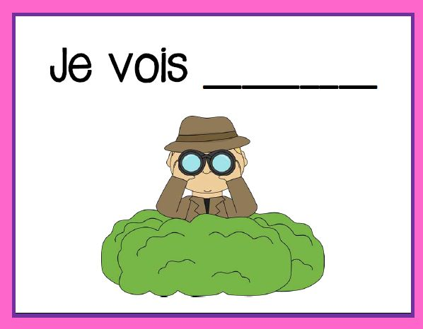 Primary French Immersion blog - Writing prompts