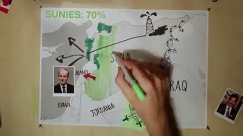El vídeo que explica la guerra en Siria con mapas y dibujos que arrasa en Internet