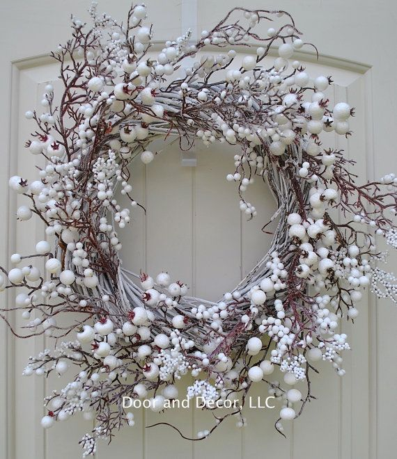 best 25 white wreath ideas on pinterest diy crafts with paper cups twig wreath and white. Black Bedroom Furniture Sets. Home Design Ideas