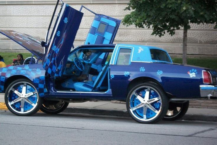 pimped out cars Google Search GBody Donks Pinterest
