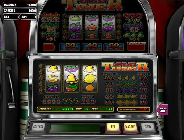 Old timer slot machine online