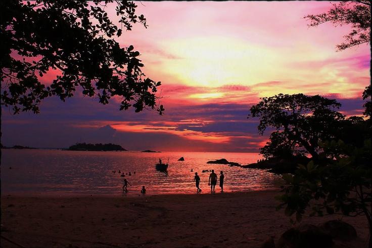Penyusuk Beach on Bangka Island, Indonesia