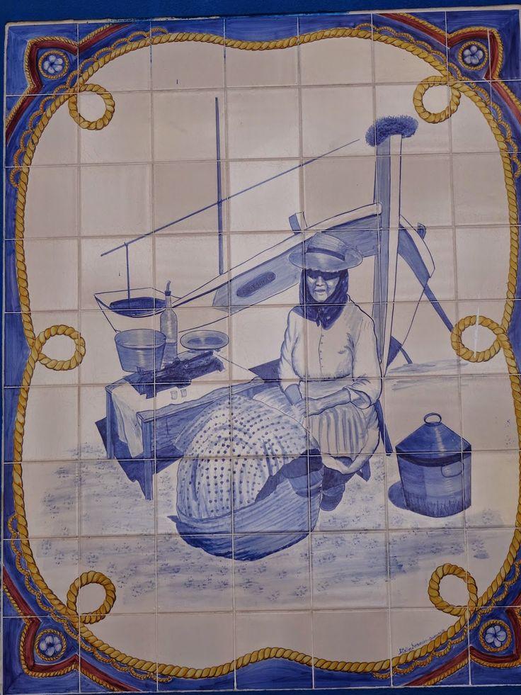 ALGARVE - PONTOS DE VISTA: Painéis de azulejos - Quarteira
