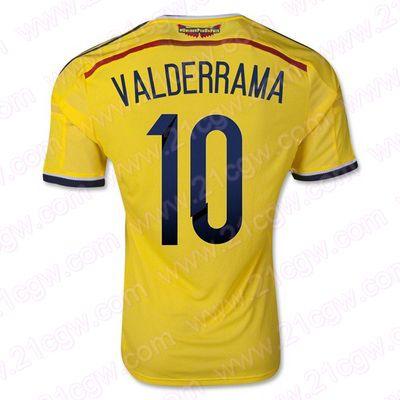 Maillot Colombie Domicile Coupe du monde 2014 (10 Valderrama) pas cher -Acheter Maillot Colombie Domicile Coupe du monde 2014 (10 Valderrama) authentique et unique un prix abordable,vous pouvez choisir le nom de votre joueur préféré et le nombre sur le dos. - http://www.21cgw.com/maillot-colombie-domicile-coupe-du-monde-2014-10-valderrama-pas-cher-21cgwcom-p-1710.html
