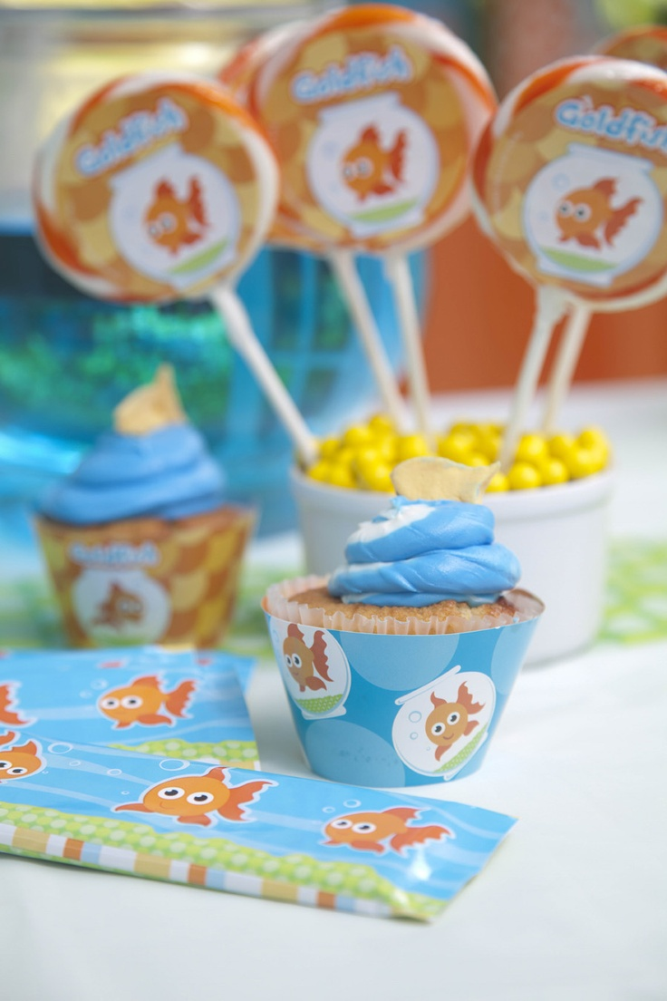 90 best Finding Nemo 1st B Day Party images on Pinterest Goldfish