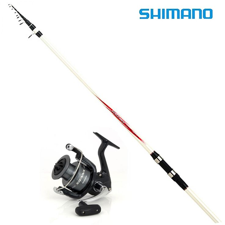 Kit Pesca Canna Shimano 15-20gr Mulinello Sienna 4000 - EUR 59.90