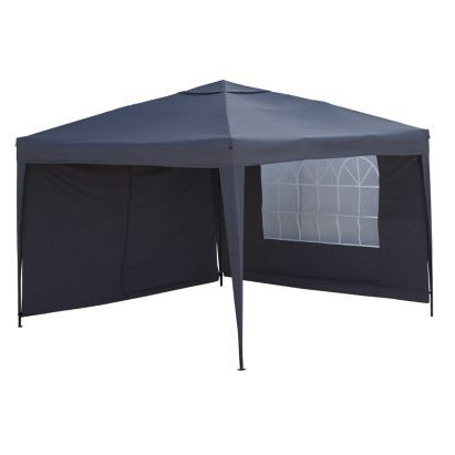 blooma tudy pop up black gazebo bq for all your home and garden supplies and advice on all the latest diy trends - Garden Sheds B Q