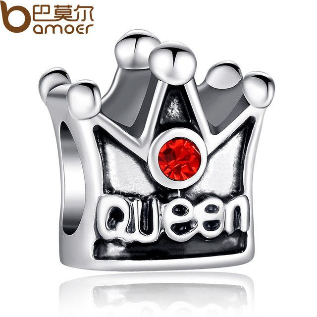 19 Style Silver Plated Pricess Crown Heart Charm Fit Bracelet Necklace Pendant O