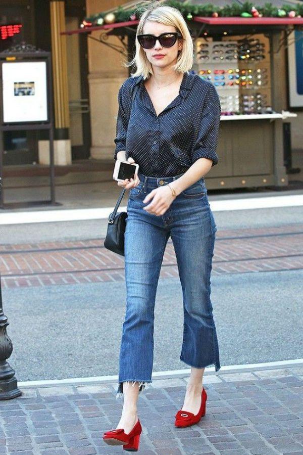 Emma Roberts streetstyle