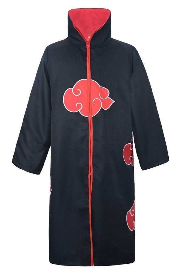Akatsuki Coat : akatsuki, DAZCOS, Unisex, Akatsuki, Cloak, Cosplay, Costume, Embroidery, Edition, 601490742465, EBay#Akatsuki#Cloak#Robe, Moletom, Naruto,, Manto, Akatsuki,