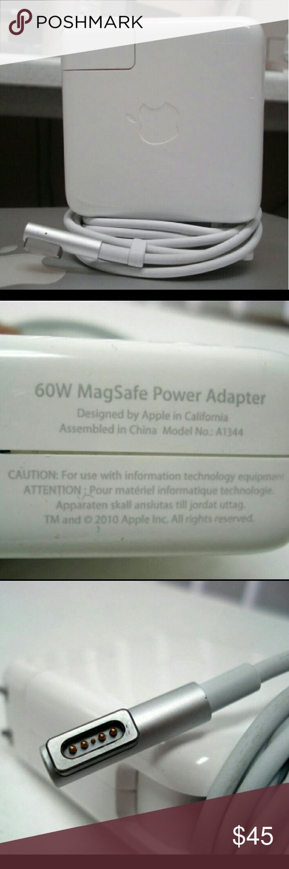 New genuine macbook 60w magsafe macbook charger Item is brand new never used. Retails for $80 at the Apple store.compatible with these macbooks   MacBook Pro (13-inch, Mid 2009) MacBook Pro (15-inch, 2.53GHz, Mid 2009) MacBook (13-inch, Mid 2009) MacBook (13-inch, Early 2009) MacBook (13-inch, Aluminum, Late 2008) MacBook (13-inch, Late 2008) MacBook (13-inch, Early 2008) MacBook (13-inch, Late 2007) MacBook (13-inch, Mid 2007) MacBook (13-inch, Late 2006)  MacBook (13-inch)  If you have any…