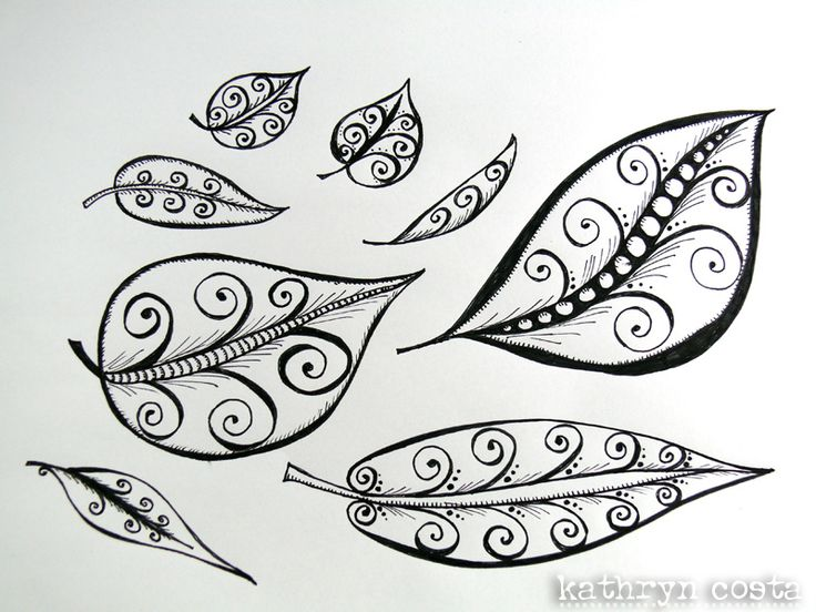 218 best doodle art images on pinterest mandalas doodle art and leaf with swirls doodle pronofoot35fo Gallery
