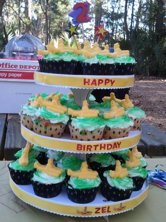 Z is for Zel: Yellow Submarine Birthday Party