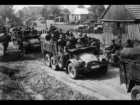 Germany Invades Poland (1939). A Day that Shook the World. On 1 September 1939, German forces invaded Poland. Without warning, their planes bombed cities including the capital Warsaw. This was the start of WW2.