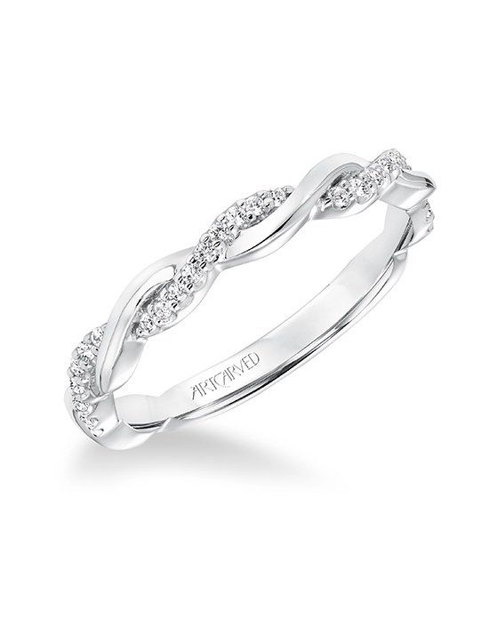 Diamond Twisted Wedding Band To Match 31 V657 Available In Platinum