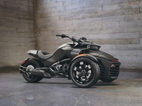 Can-Am Spyder F3 Triple Black
