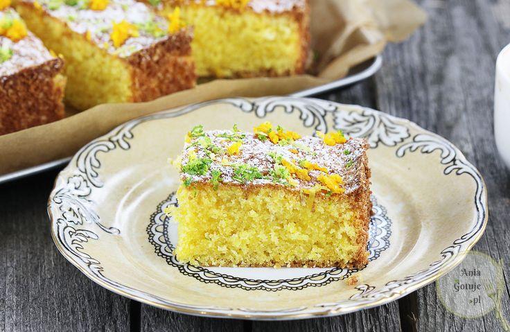 Cytrynowe ciasto kisielowe | Ania gotuje