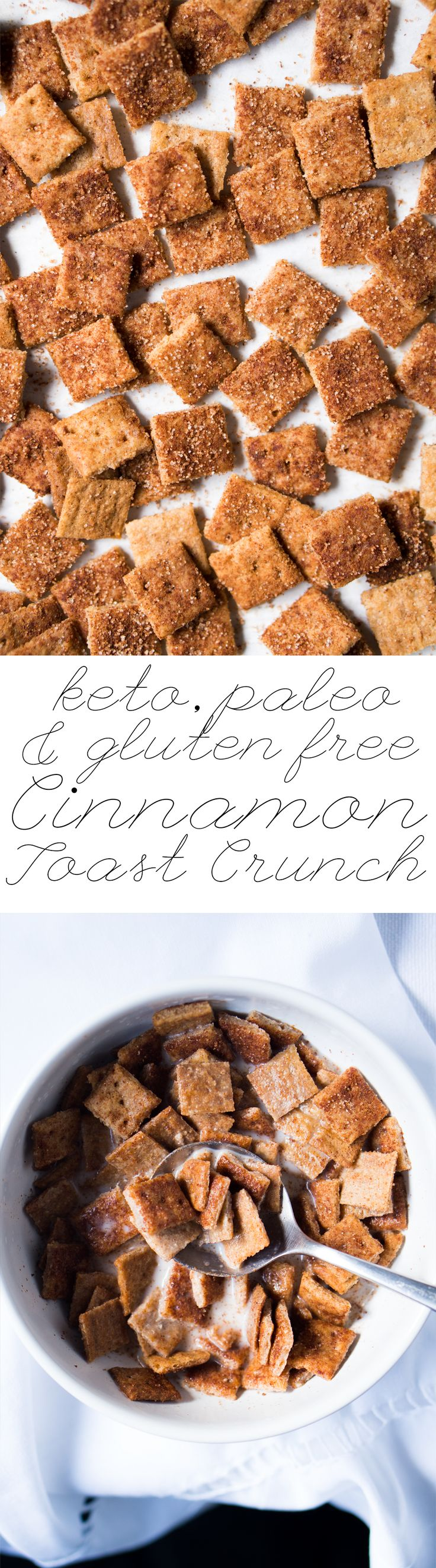 Paleo & Keto Cinnamon Toast Crunch 2g net carbs I do believe this might just be the most amazing thing i ever Pin.