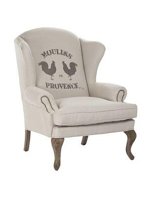 -36,650% OFF Zentique Zacharie Club Chair, Natural