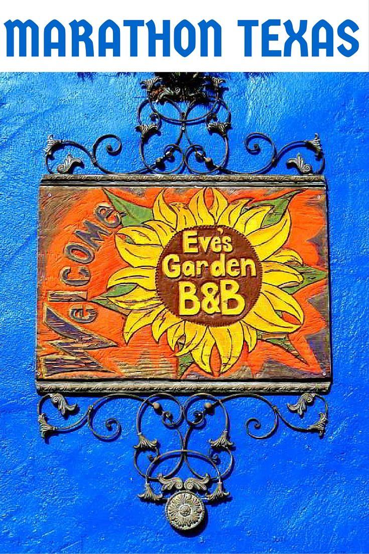 Eve's Garden Bed & Breakfast in Marathon Texas - gateway to Big Bend National Park in West Texas - SoloTripsAndTips.com