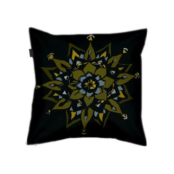 Back of Cushion cover / Pillow cover by Cally Creates. €19.99 free shipping worldwide.: Sketch