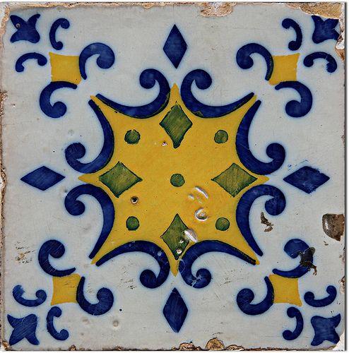 Azulejo Português / Portuguese Tile - São Luís, Maranhão