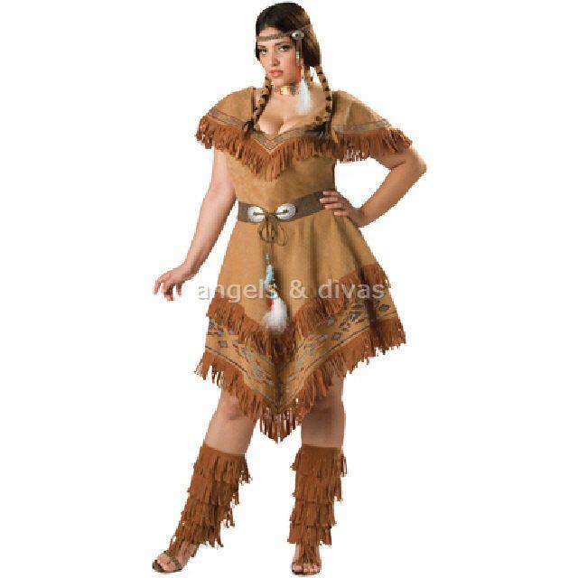Indian Plus Size Fancy Dress Style Plus Dress