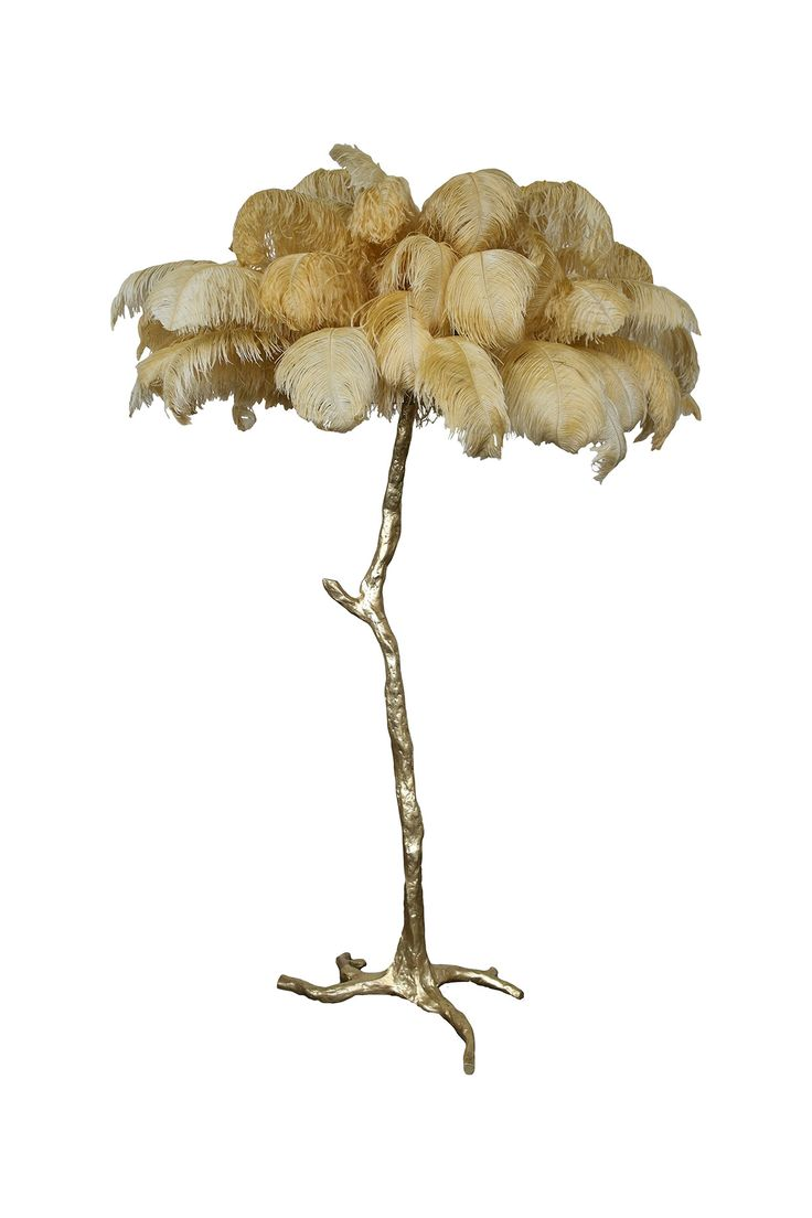 16 Best Ostrich Feather Lamp Images On Pinterest Feather