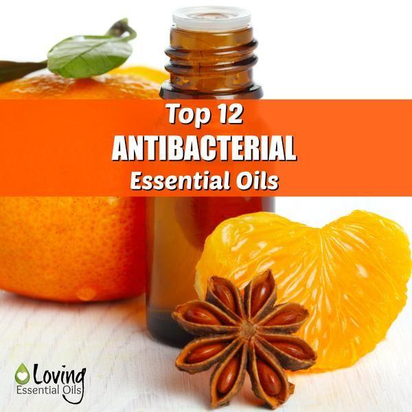 Top 12 Antibacterial Essential Oils http://www.lovingessentialoils.com/blogs/essential-oil-tips/73834051-top-12-germ-fighting-essential-oils