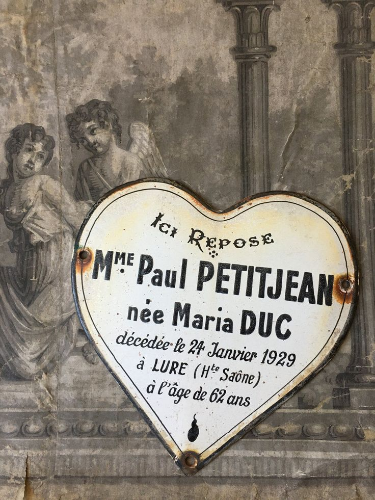 antique French memorial plaque,  French heart shaped funeral plaque ~ dated 1929 by histoireancienne on Etsy https://www.etsy.com/listing/503709146/antique-french-memorial-plaque-french