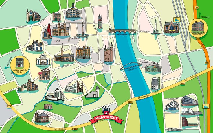 Take a virtual campus tour through our beautiful city...  #maastricht #studyabroad #europe #travel #maastrichtuniversity #virtualtour