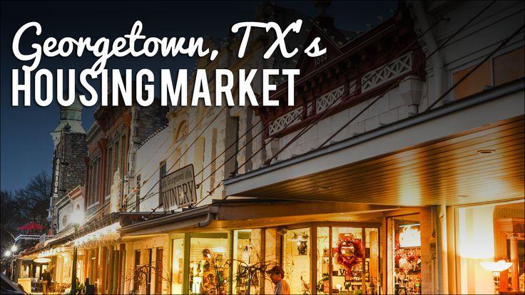 Georgetown, Texas  Eco-friendly & growing fast, what's the housing market like?  See average home price, school ratings & more!  #Georgetown #Austin #AustinSuburbs #HousingMarket #Realtor #RealEstate