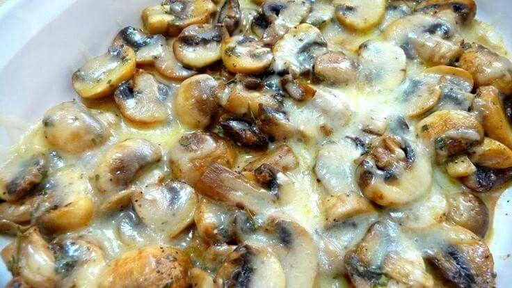 Mushroom bake