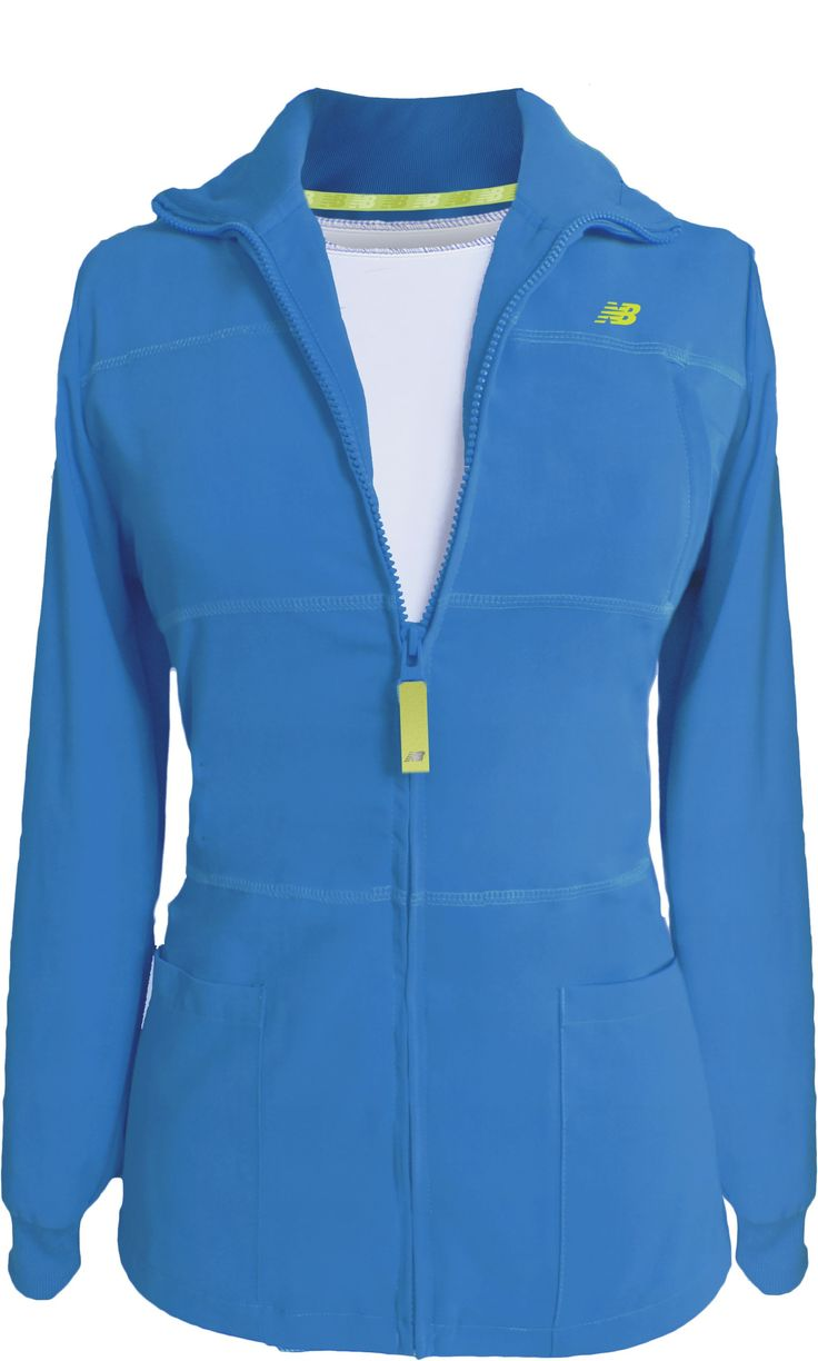 New Balance Stat #Nursing Jacket. Blue Jewel. Now - more in stock!