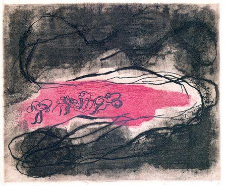 Jean Fautrier. Paysage sombre, 1941.
