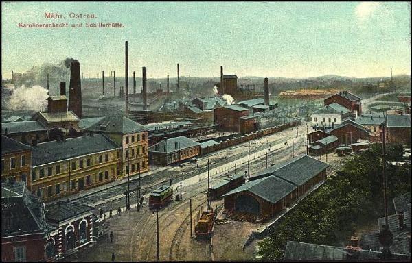 Ostrava - Karolína (1915)