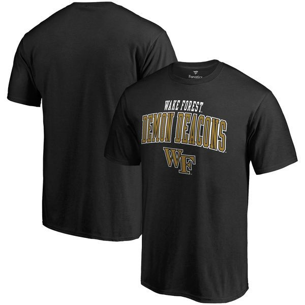 Wake Forest Demon Deacons Fanatics Branded Square Up T-Shirt - Black - $19.99
