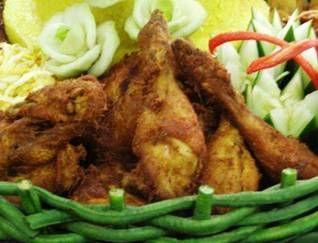 Aneka Lauk Tumpeng|Resep Ayam Goreng Ungkep
