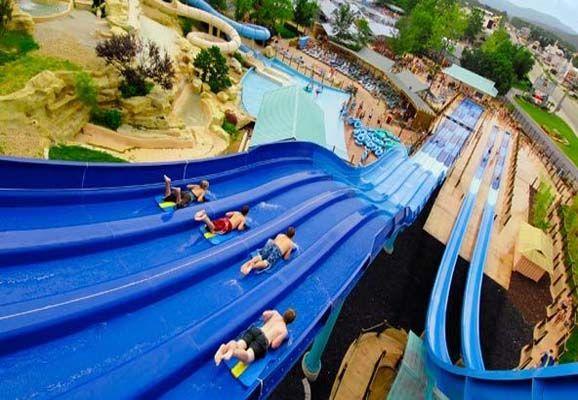 Summer fun at White Water in Branson, Missouri.