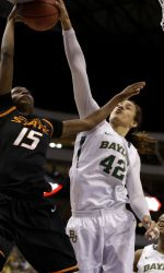The top-ranked Baylor Lady Bears set their sights on a fifth Big 12 Tournament crown since 2005 as they take on Iowa State Monday at 7 p.m. CT.