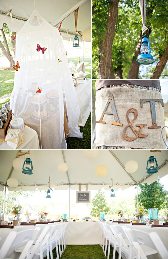 Back Yard Wedding Ideas, Loving The Way The Sweets Are Covered