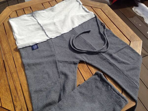 gokochi Sweat Thai Pants 'Mai' Dark Grey #デザフェス #gokochi