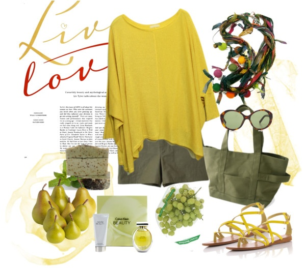 """natural"" by antigoni-pagali on Polyvore"