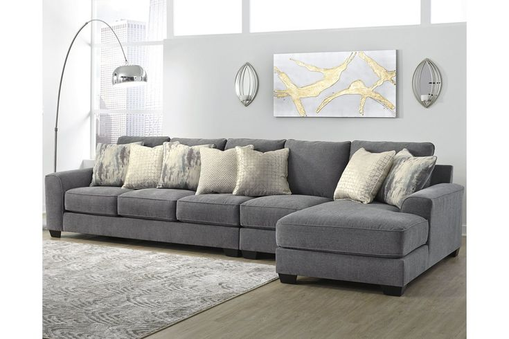 Castano 3 Piece Sectional With Chaise, Ashley Furniture Sectional Sofas Canada