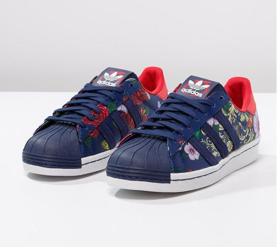 baskets femme zalando achat pas cher adidas originals rita ora superstar 80s baskets basses. Black Bedroom Furniture Sets. Home Design Ideas