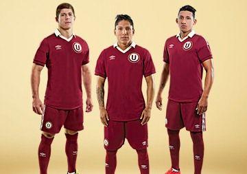 Club Universitario de Deportes 2014/15 Umbro 90th Anniversary Away Kit