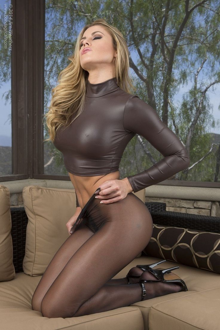 Skinny girls in tights nylons pantyhose #12