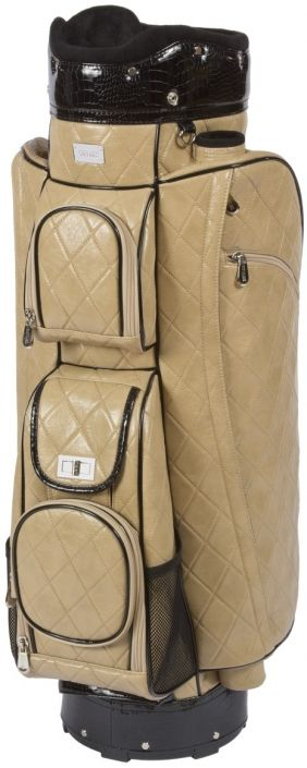 Check out what Lori's Golf Shoppe has for your days on the golf course! Cutler Sports Ladies Golf Cart Bags - Grace Beige Quilt