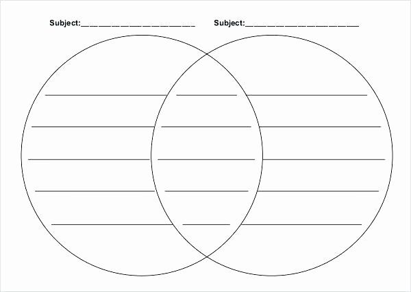 Venn Diagram Template Editable In 2020 With Images Venn